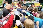 Dětský den na koupališti Vápenka vLiberci, 2010.