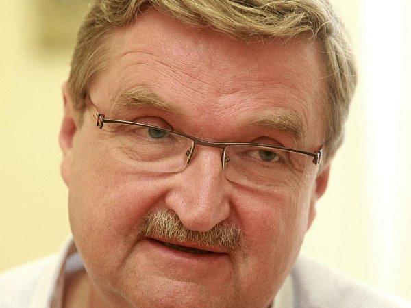 Richard Lukáš, přednosta traumacentra liberecké nemocnice.