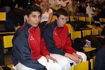 DVA Z ÚSPĚŠNÝCH. Zleva Eric Akhsas a Marek Blaha.