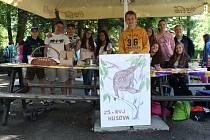 Projektový den v liberecké zoologické zahradě.