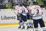 37. kolo hokejové extraligy mezi Bílí Tygři Liberec a HC Škoda Plzeň