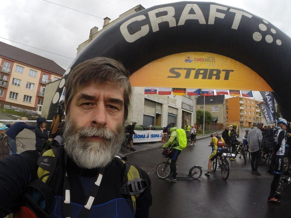 Chotyňský Petr Ozogán šel závod počtvrté. Tentokrát ho ale ušel celý.