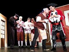 Divadlo bez debat z Prahy přiveze výbornou a notoricky známou komedii Carla Goldoniho Sluha dvou pánů.