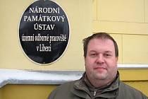 NOVÝ ŘEDITEL libereckého Národního památkového ústavu je Miloš Krčmář.