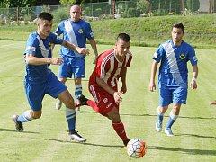 CHRASTAVA hrála pohár se Zápy (1:2).