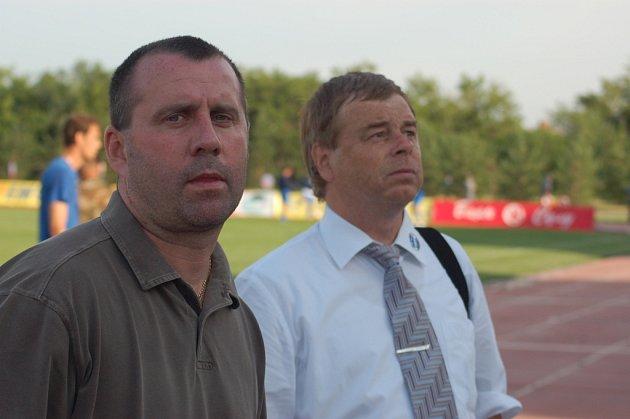 Josef Jinoch (vlevo).