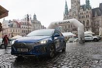 Na náměstí v Liberci odstartovala Eco Rally v rámci Rally Bohemia.