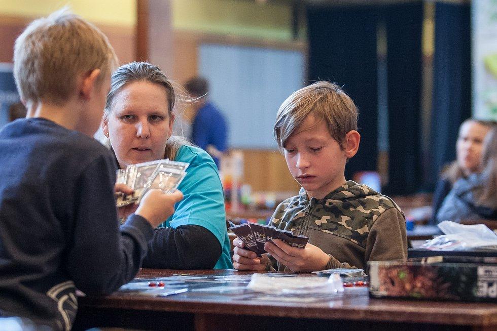 Festival společenských her a kultury Hopecon 2018 pokračoval 8. listopadu v Liberci.