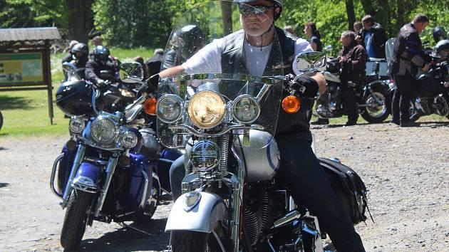 Motorkáři, ilustrační foto.