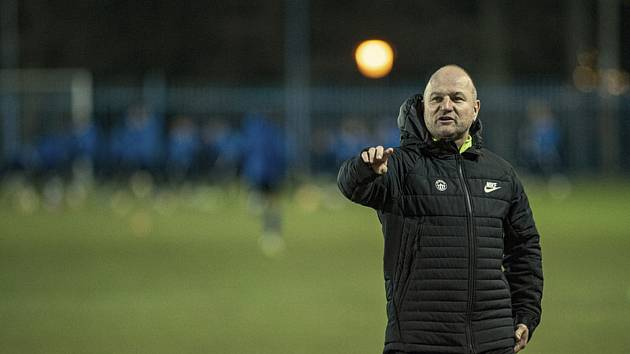Pavel Hoftych, trenér libereckých fotbalistů.