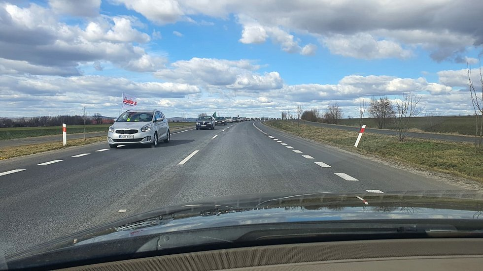 Poláci blokovali hraniční přechod kvůli Turówu.
