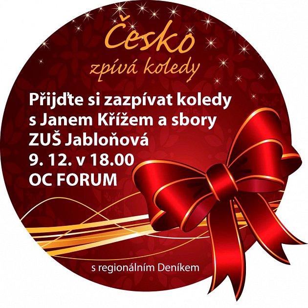 Česko zpívá koledy vOC Forum Liberec.