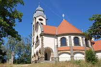 "Kostel ""U Obrázku"" nad Ruprechticemi."