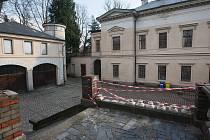 Prohlídka k přestavbě Liebiegova paláce.