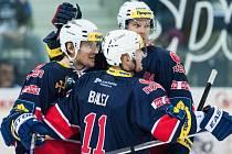 Hokej - derby mezi Libercem a Chomutovem.