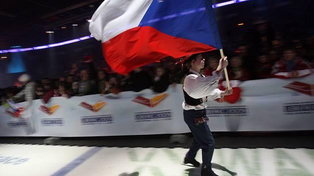 Slavnostní zahájení MS v klasickém lyžování 2009.