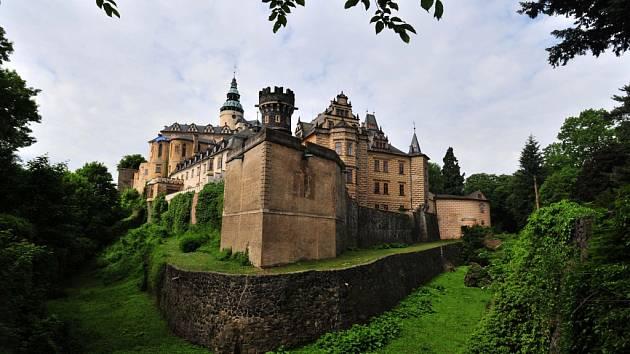 Státní hrad a zámek ve Frýdlantě na Liberecku.