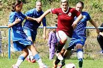 PŮLTUCET BRANEK inkasovaly fotbalistky Slovanu Liberec od Sparty Praha.