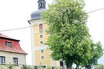 Kostel v Dlouhém Mostě.