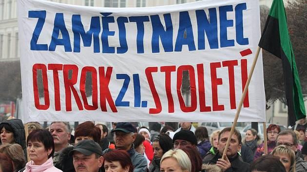 Stávka - ilustrační foto.