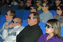 JINÝ ZÁŽITEK. Ani jablonecké kino Radnice se neubránilo modernizaci a divákům nabízí filmy ve formátu 3D.