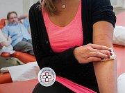 Darování krve. Ilustrační fotografie.