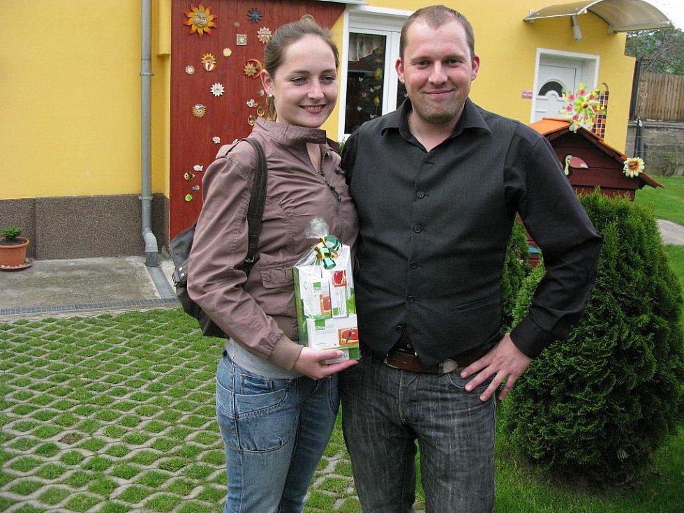 Jiří  Klempa, který obdržel 2. cenu v kategorii rodinný dům.