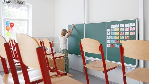 Nově zrekonstruovaná škola v libereckých Ruprechticích.