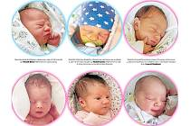 Narozená miminka vychází v sobotním Deníku.