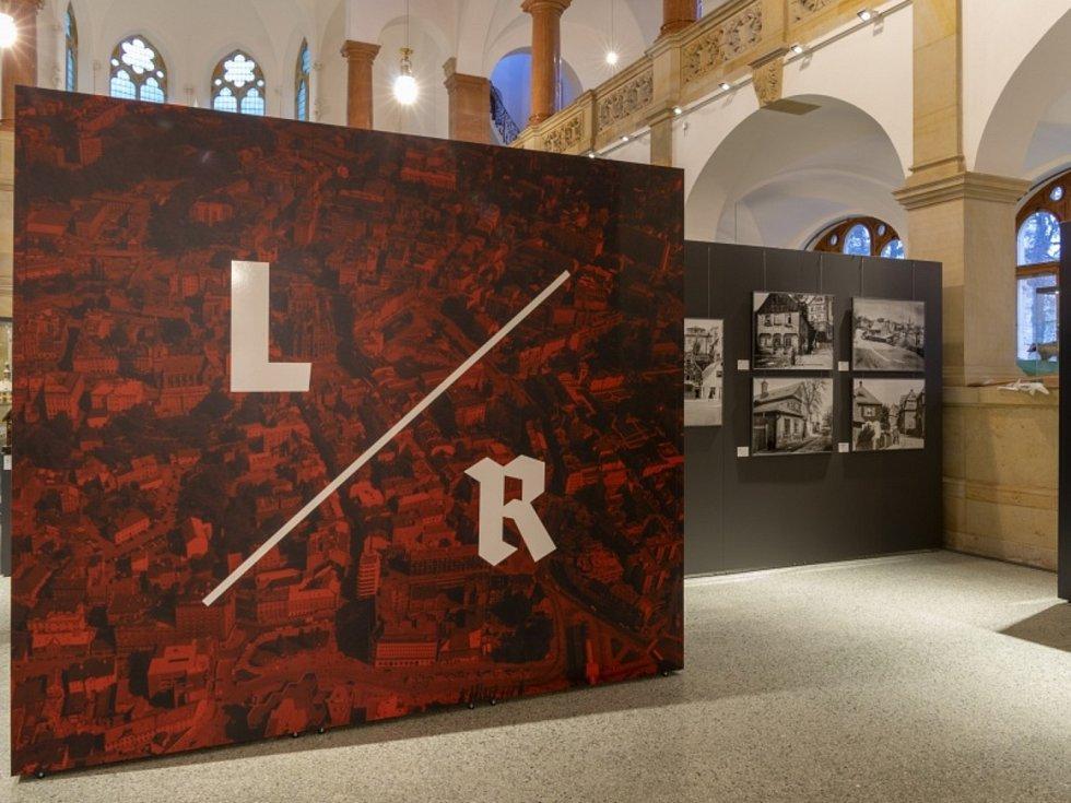 Výstava Liberec kontra Reichenberg v Severočeském muzeu v Liberci.