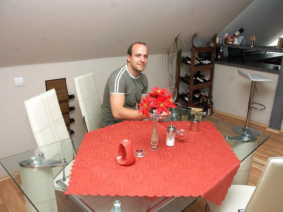 Jiří Pertl se umístil na třetím místě v kategoriích rodinný dům, kuchyně a koupelny