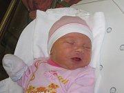 VIKTORIE ŘEŠETKOVÁ  Narodila se 8. listopadu v liberecké porodnici mamince Pavlíně Mádlové z Hrádku nad Nisou. Vážila 3,42 kg a měřila 49 cm.