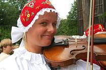 Tradiční pouť v Kryštofově Údolí.
