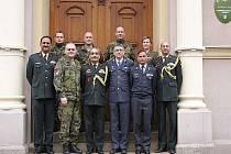 Náčelník Integrovaného obranného štábu Indie generálporučík Satish Dua navštívil v pátek 23. března posádku Liberec.