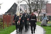 BITVY. 150 LET od prusko-rakouské války v roce 1866 si připomněli v sobotu na Dlouhých Mostech.