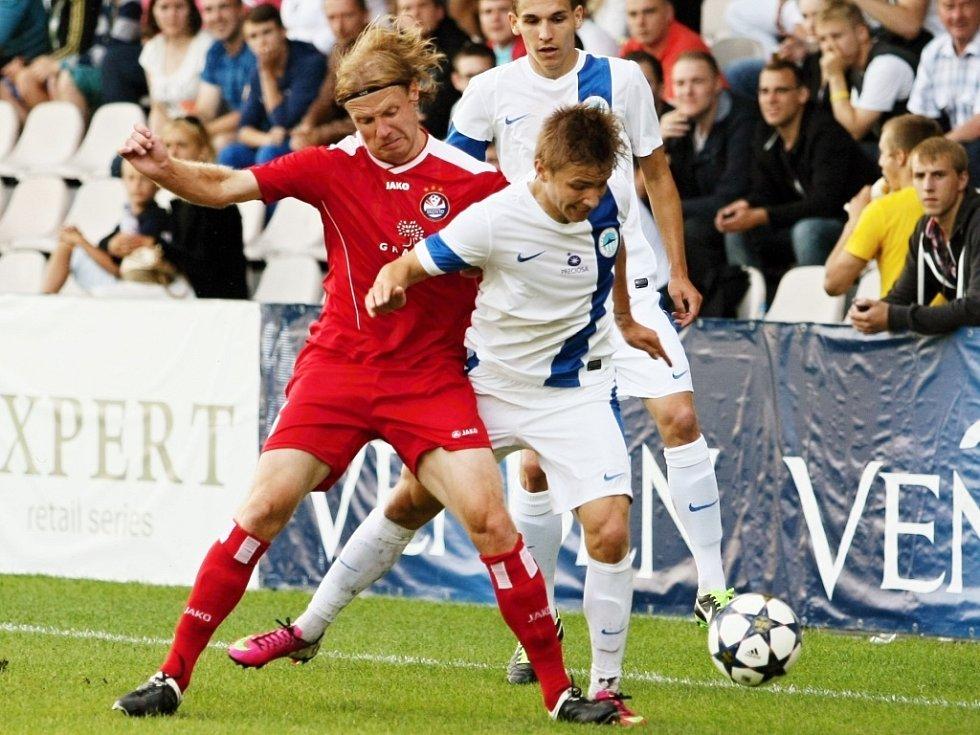 Ne zcela ideální výsledek uhrál ve čtvrtek fotbalový tým Slovanu Liberec v úvodním utkání druhého předkola Evropské ligy v lotyšské Rize.