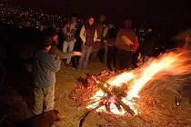 Oheň ilustrační foto