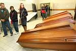 KREMATORIUM se v podobném rozsahu otevřelo veřejnosti po deseti letech. Ladislav Kopal, jednatel společnosti Likrem plánuje další den otevřených dveří na rok 2018.