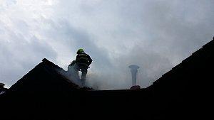 Požár v Harachově