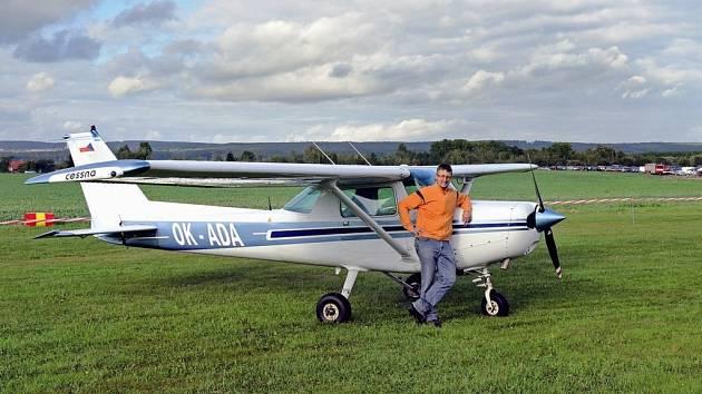 ALEŠ TAUCHMAN - kapitán Boeingu 737, létání na sportovním letounu je i jeho koníčkem