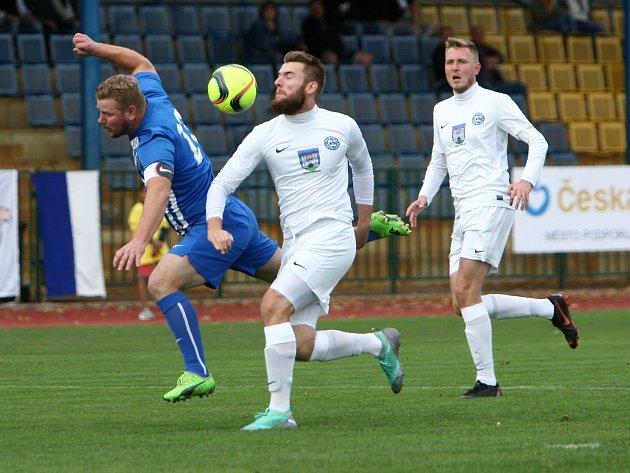 Frýdlant (v bílém) prohrál v České Lípě 0:3.