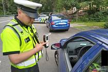 Dopravně bezpečnostní akce v Libereckém kraji.
