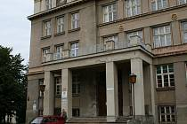 Budova B liberecké univerzity.