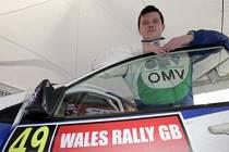 PŘED ZÁVĚREČNÝM STARTEM. Štěpán Vojtěch zakončil sezonu startem na Britské rally ve Walesu, kde získal osmý bod na své konto.