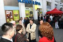 V Kině Lípa v Liberci jako v posledním kamenném kině ve městě proběhl roku 2009 čtrnáctý ročník Febiofestu.