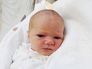 BEÁTA JIRSÁKOVÁ Narodila se 10. dubna v liberecké porodnici mamince Kristýně Havlové z Vratislavic n. N. Vážila 2,63 kg a měřila 48 cm.