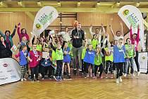 V Habarticích se na základní škole uskutečnil olympijský trénink Jeho cílem je vnímání olympijských hodnot formou pohybových her.