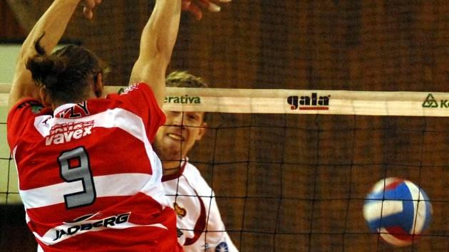 DRUHÁ PROHRA. Liberečtí volejbalisté před pohárovým zápasem v Rumunsku zažili dvě prohry.