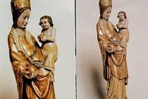 MATER FORMOSA. Hejnická madona, soška ze 14. století.