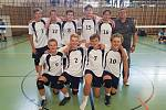 Mladí volejbalisté TJ Slavia Liberec.